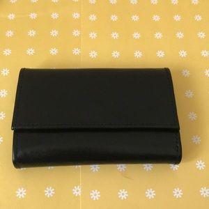 NWT Black Key Case Wallet